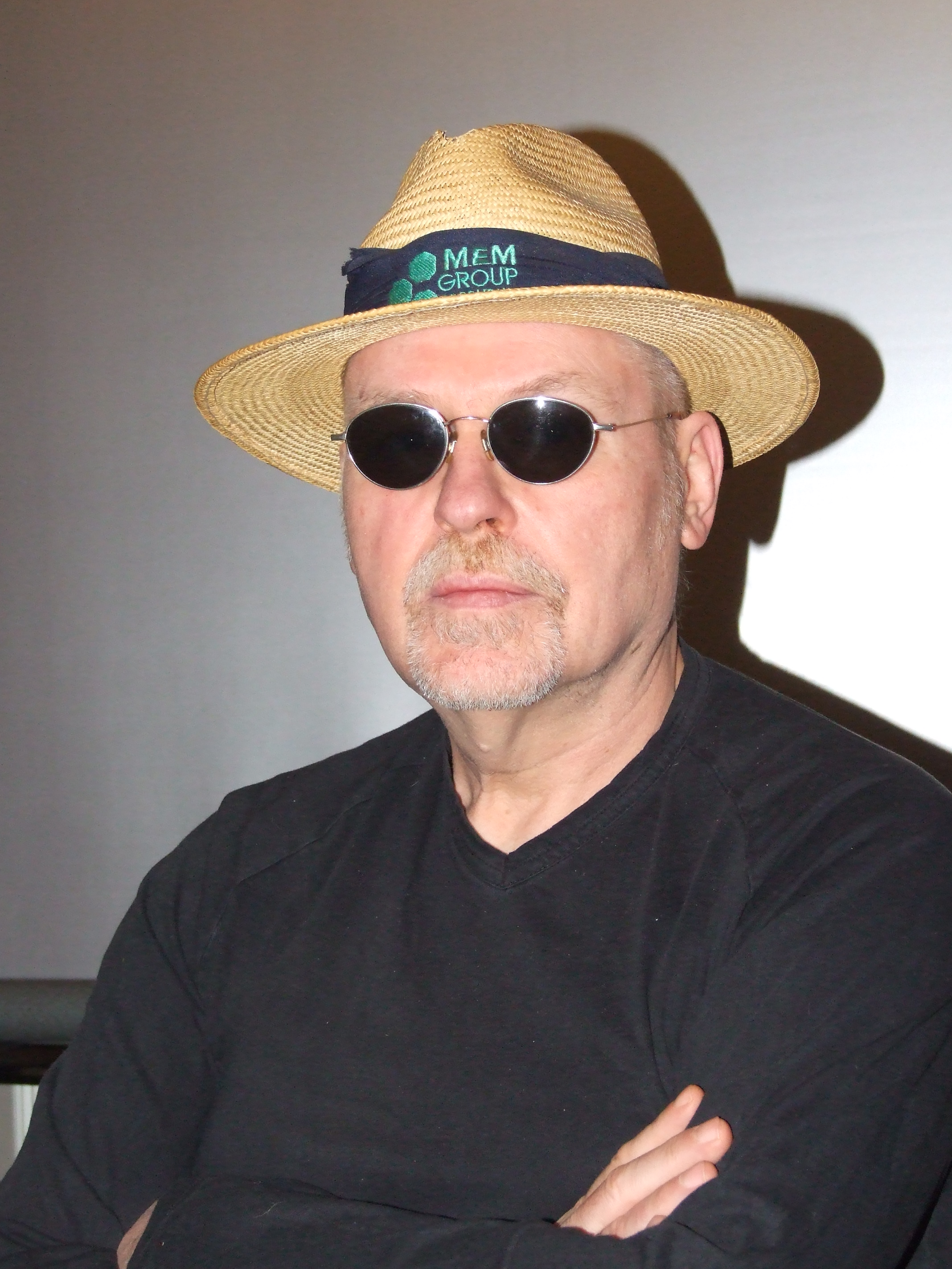 #manwithhatandsunglasses - in the summertime