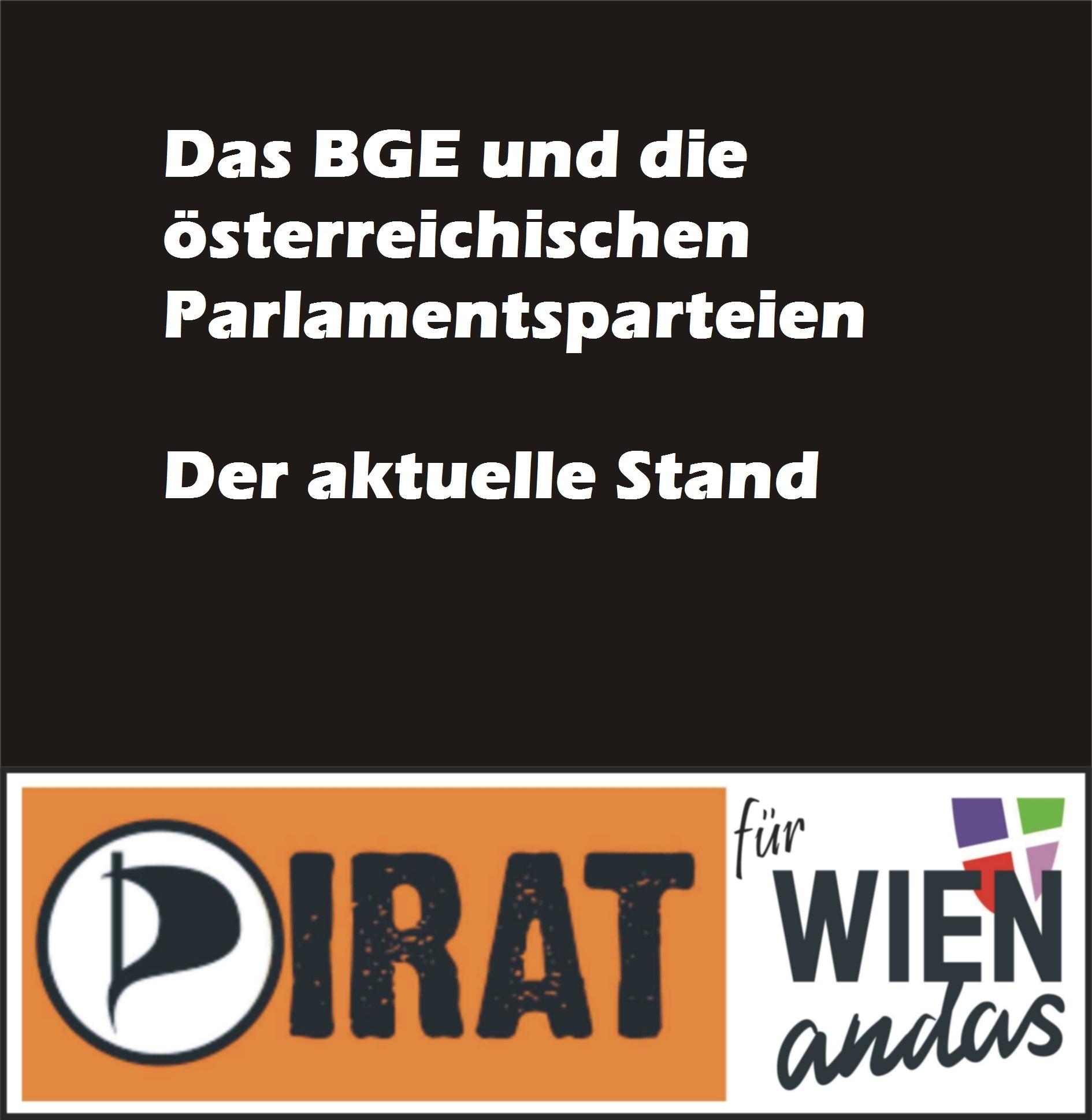 Das BGE und die österreichischen Parlamentsparteien