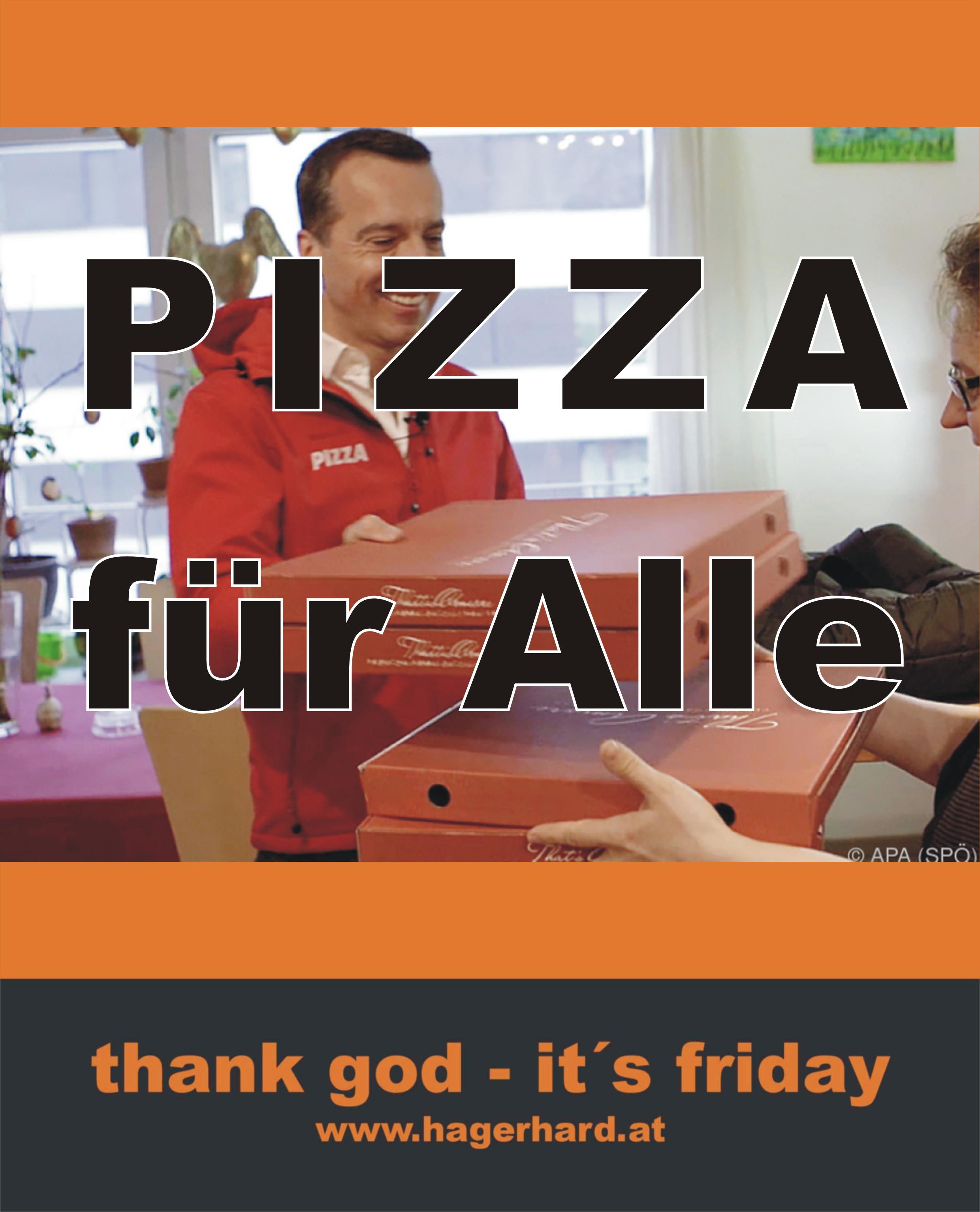 Pizza für Alle
