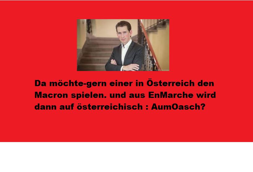 Die 7 Punkte von Kurz für Österreich