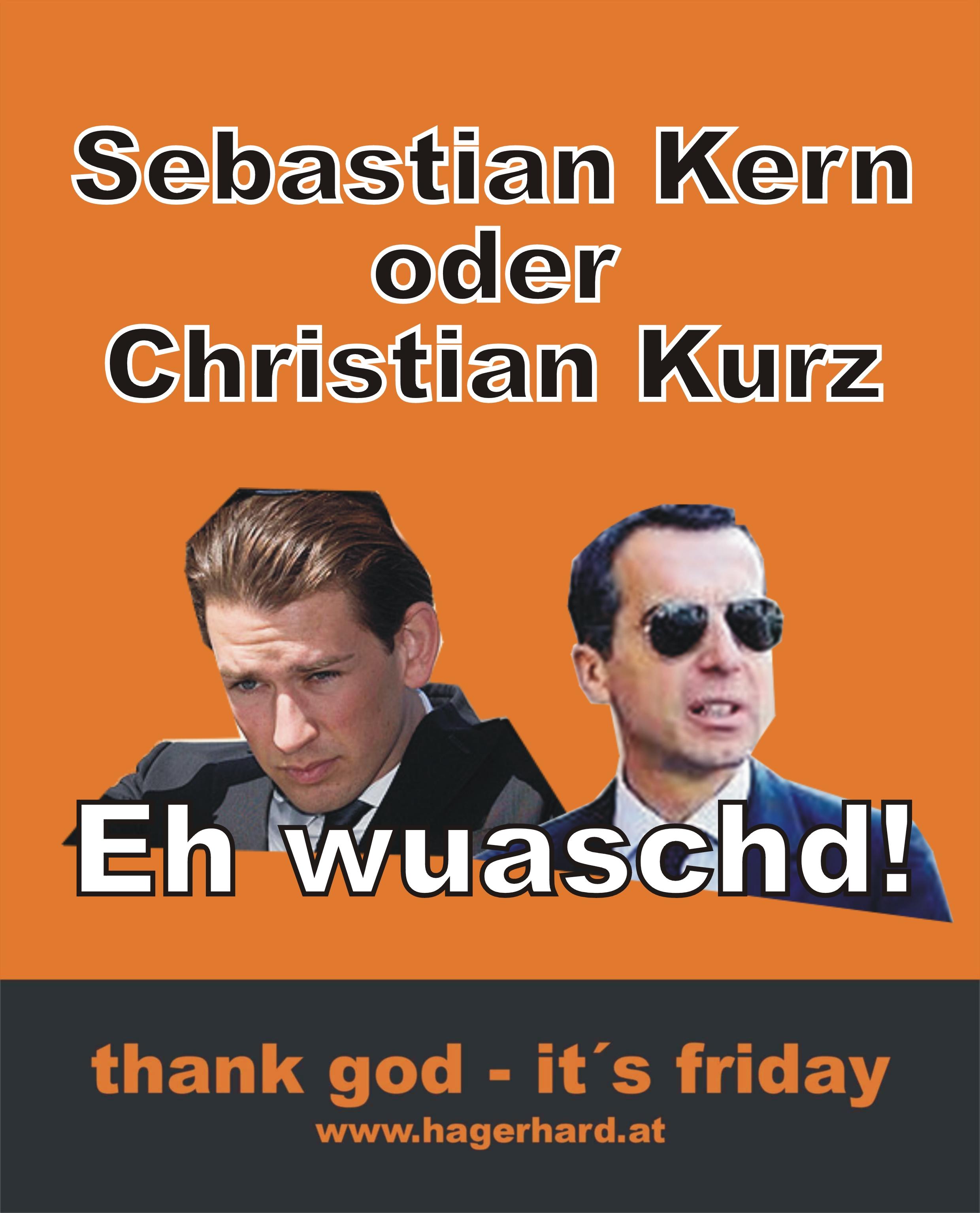 Sebastian Kern oder Christian Kurz