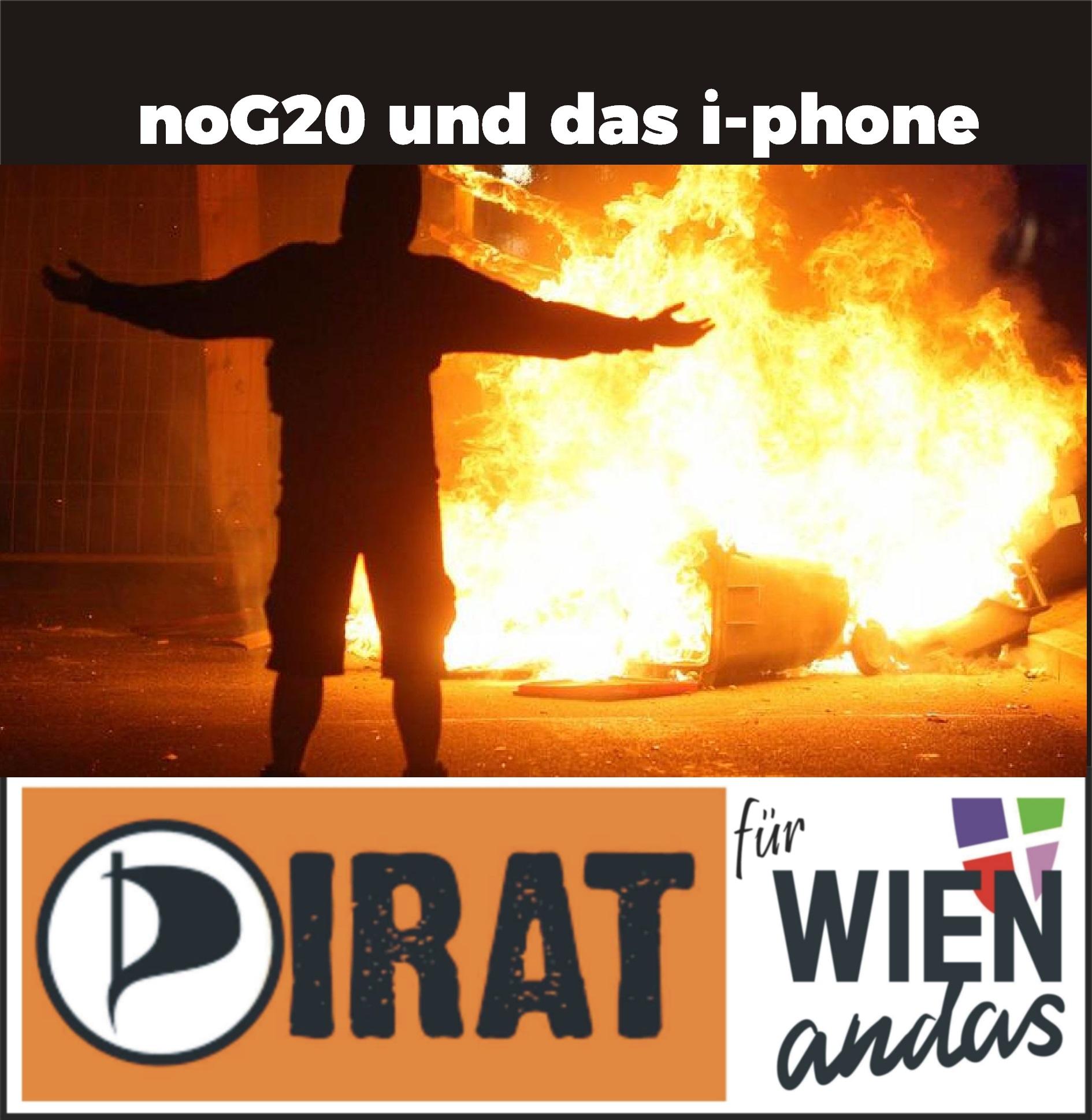 noG20 und das i-phone