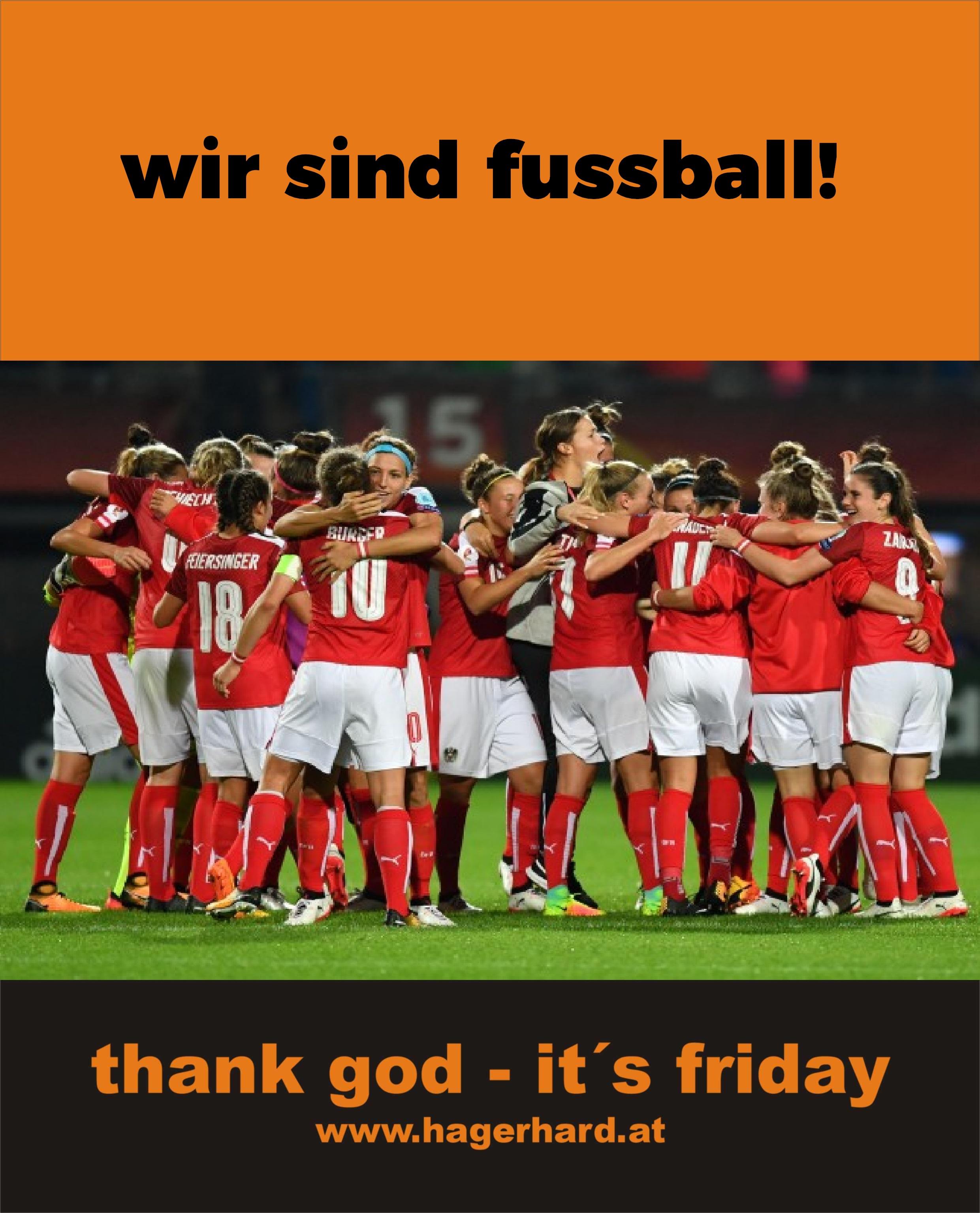 wir sind fussball!