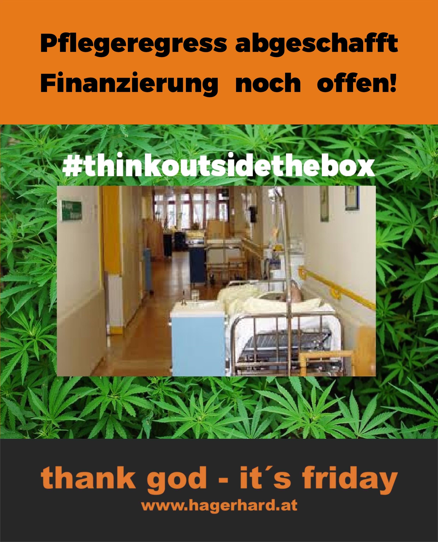 Pflegefinanzierung - wie? #thinkoutsidethebox