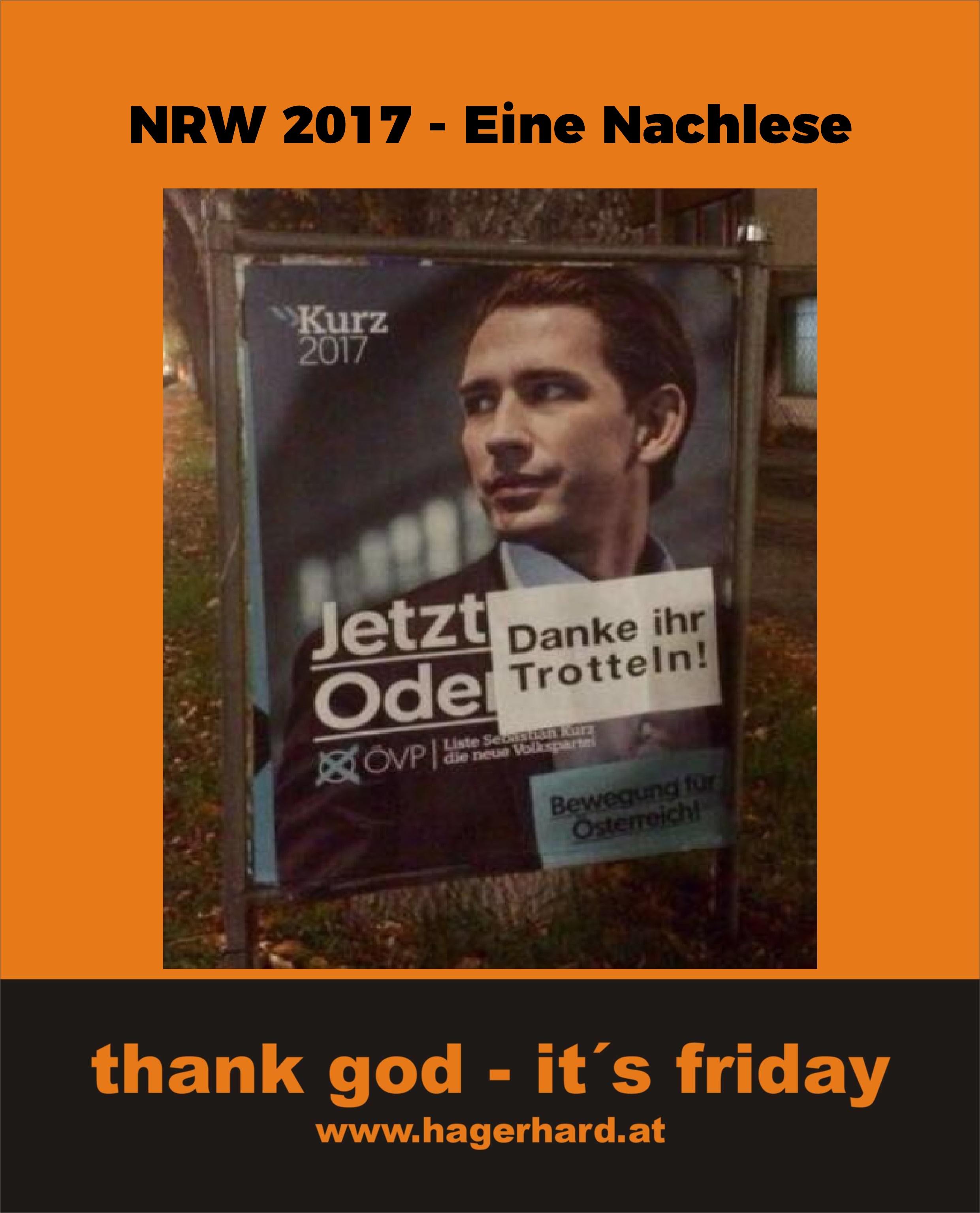 #NRW 2017 - Eine Nachlese