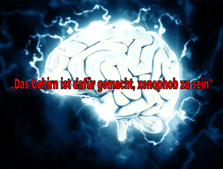 """""""Das Gehirn ist dafür gemacht, xenophob zu sein"""""""