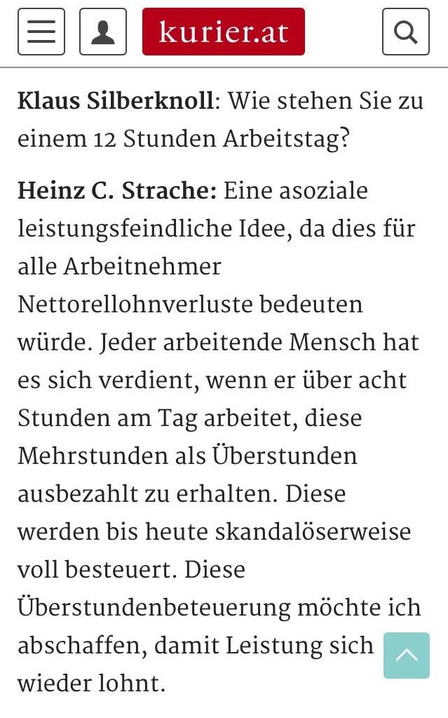 HC Strache - der Umfaller