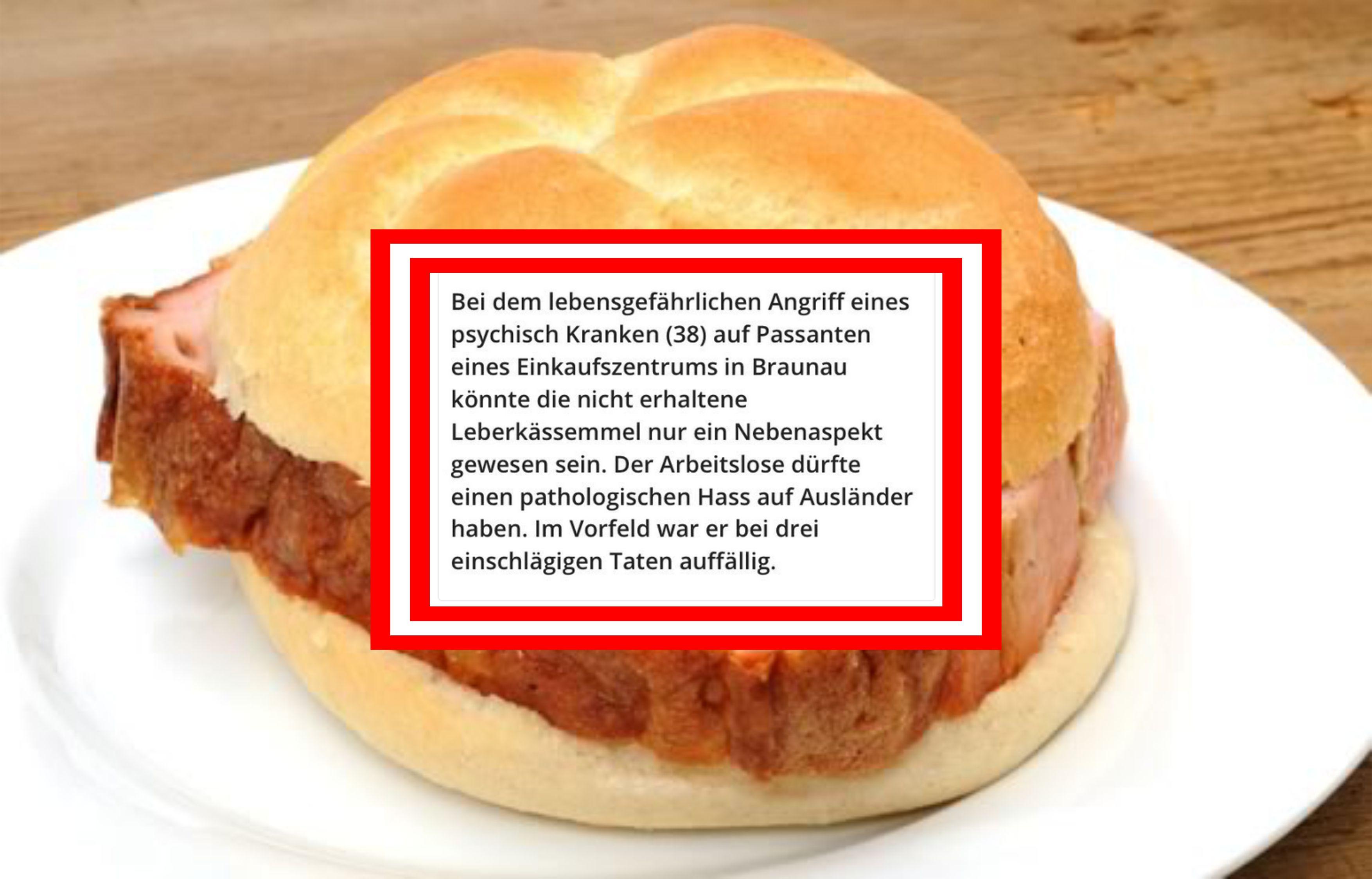 Amokfahrer in Braunau rastet wegen Döner-Kebab aus!