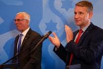 LR Elmar Podgorschek, FPÖ, zu Gast bei Björn Höcke, AfD
