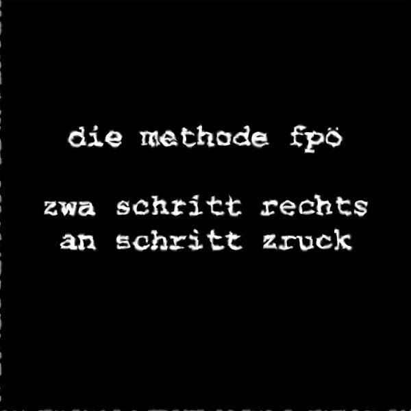 Das wahre Gesicht der FPÖ – oder: die abscheuliche Fratze hinter der Regierungsspitze!