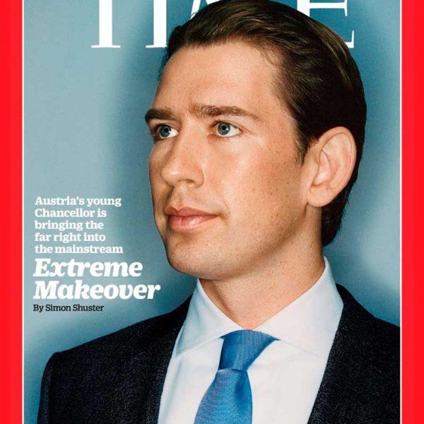 Der Cover-Boy der Rechtsextremen