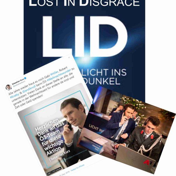 lost in disgrace