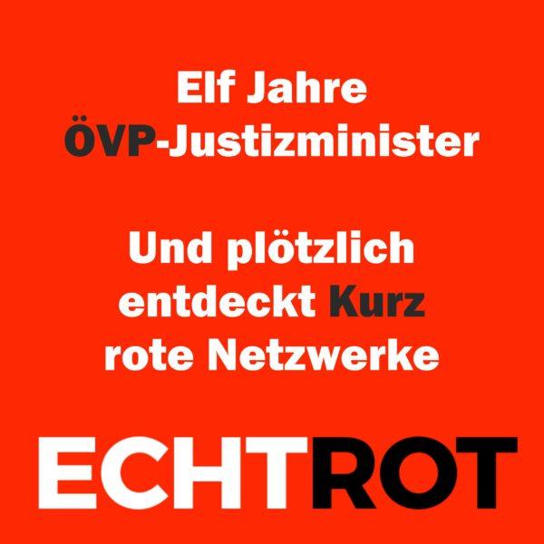 Elf Jahre ÖVP-Justizminister