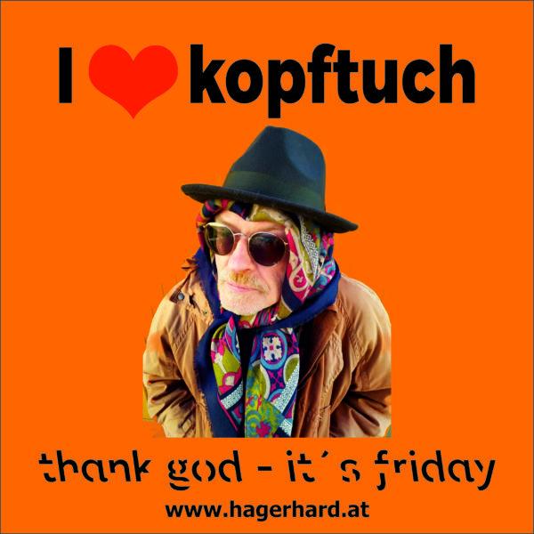 I love kopftuch
