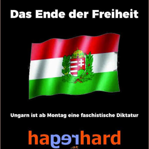 Ungarn ist ab Montag eine faschistische Diktatur