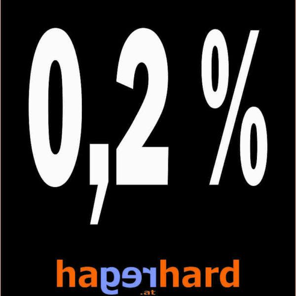 0,2 % !