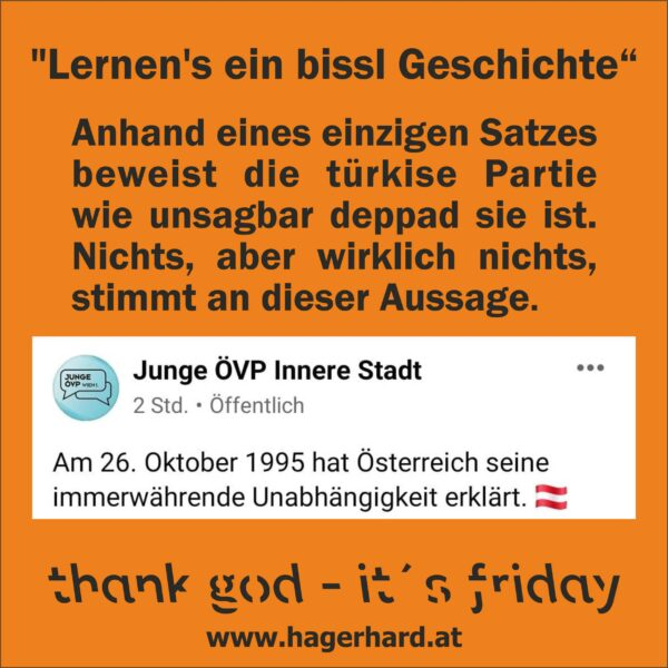 """""""Lernen's ein bissl Geschichte"""""""