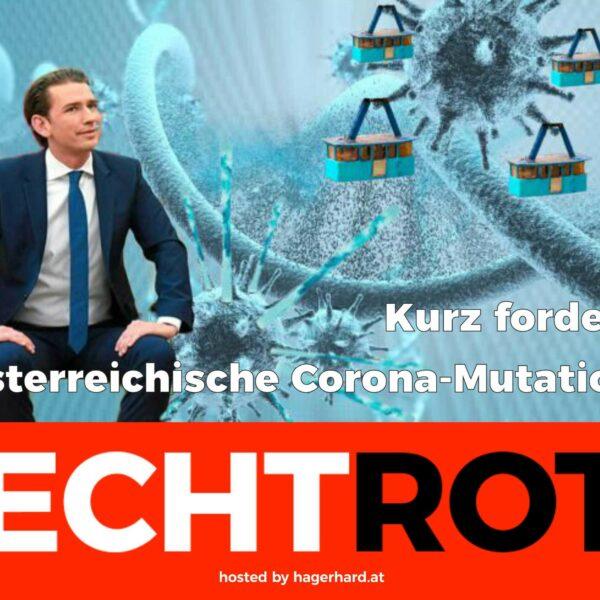 Kanzler Kurz fordert österreichische Corona-Mutation