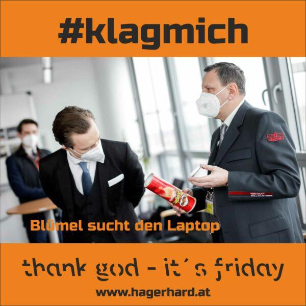 #klagmich
