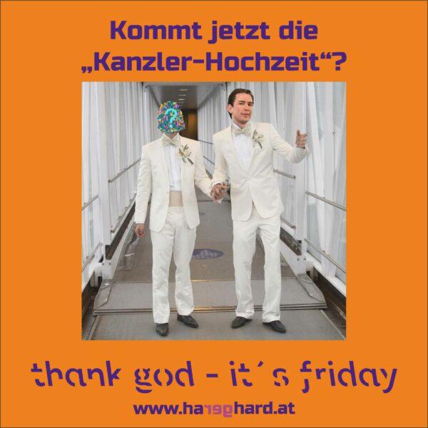 """Kommt jetzt die """"Kanzler-Hochzeit""""?"""