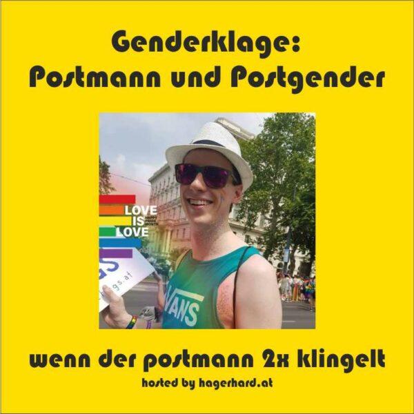 Genderklage: Postmann und Postgender